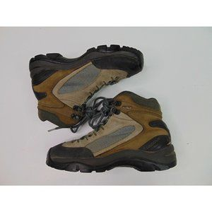 Vasque Men 6.5 Hiking Rain Boots Waterproof Gore Tex Brown Leather Vibram Trail